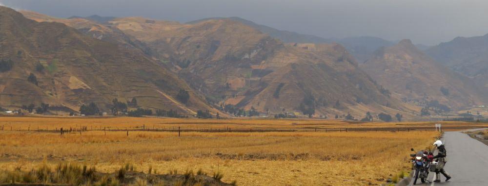 peaks, pampas, and panniers