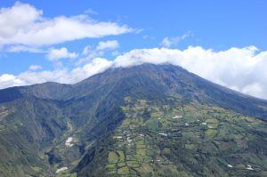 The Tungurahua volcano