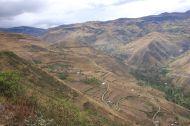 The landscape around Alausi.