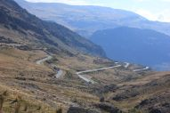 The mountain pass at 3500m.