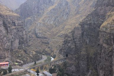 On the road from Tarma to Lima