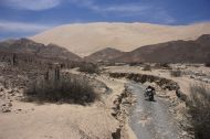 A wall of 2300m sand