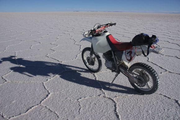 my little 400ccm Honda. A real fun bike...