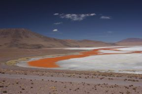 The Laguna Colorada