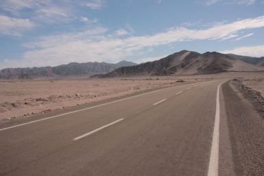 Leaving the NP Pan de Azucar