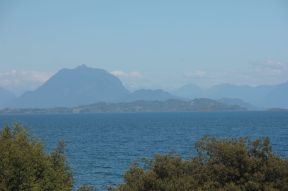 Lago Ranco with its crystal clear water.