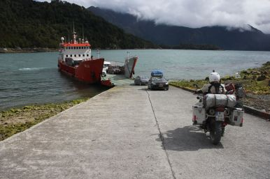 Our last little ferry.