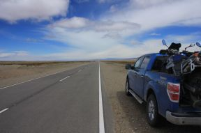 Back on the Ruta 40 direction south to El Calafate