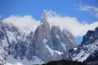 The incredible granite tower of Cerro Torre.