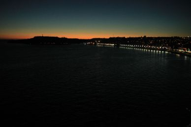 Sunset in Puerto Montt