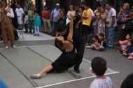 Tango shows everywhere...