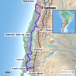 Our ride through central Chile