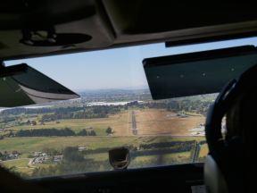 on final approach