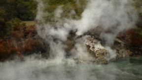 the little area is full of geothermal activity
