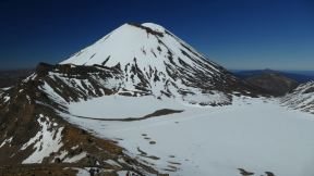 Mt Ngauruhoe is a holy place for the Maori