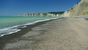 the walk to Cape Kidnappers