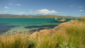 The Bay of Wellington is a huge natural sound