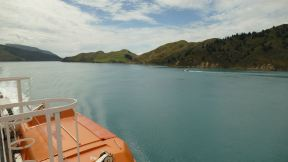 Entering the Sounds on the South Island