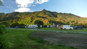 Our wonderful campsite in Abel Tasman NP