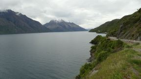 Southern part of the Lake Wakatipu.