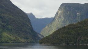 The Fjordlands and one of its highlights: Doubtful Sound.
