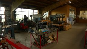The restauration workshop of Croydon Aircraft Company.